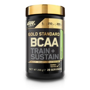 Aminoacizi BCAA train+sustain ,266g