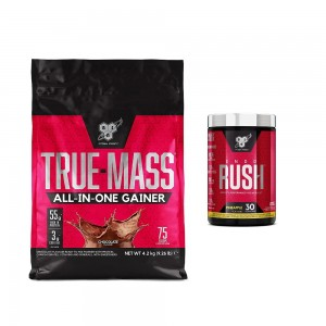 PACHET BSN TRUE MASS + ENDO RUSH