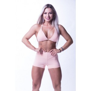 Nebbia high waist short salmon