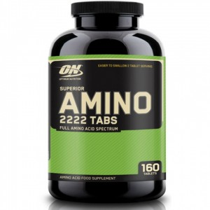 Aminoacizi Amino 2222 optimum nutrition , 160 tablete