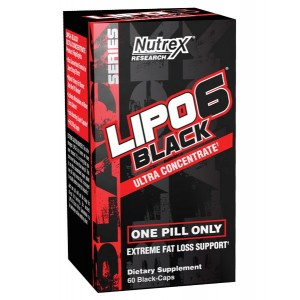 Nutrex Lipo 6 black ultra concentrat, 60caps
