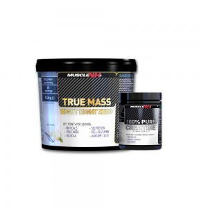 Muscle NH2 True Mass 5kg- creatina 500g cadou