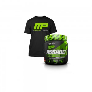 Assault Energy+Strengh 345g - tricou cadou