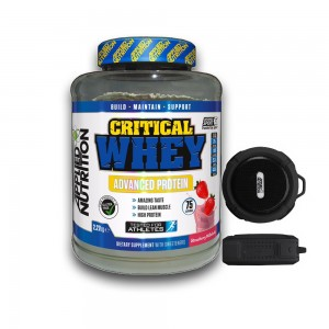 Applied nutrition Critical whey 2,3 kg - boxa cadou